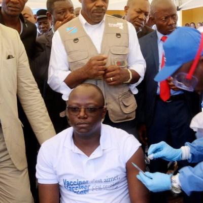 Congo aplica vacunas en localidad afectada por ébola