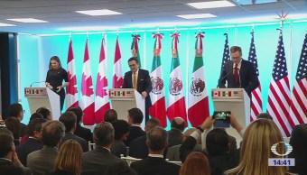 Continúan Negociaciones Tlcan Washington México, EU y Canadá