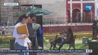 Continuarán Altas Temperaturas Campeche