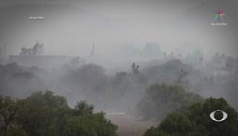 Controlan Incendio Basurero Hidalgo Mineral de Reforma