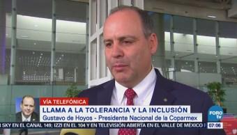 Coparmex Se deben rechazar discursos de polarización
