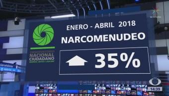 Crece Narcomenudeo México