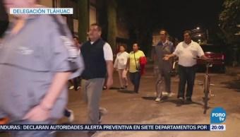 Damnificados Sismo Realizan Rondines Inseguridad Tláhuac