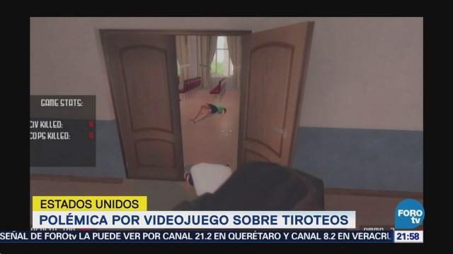 Dan Conocer Polémico Videojuego Tiroteos EU