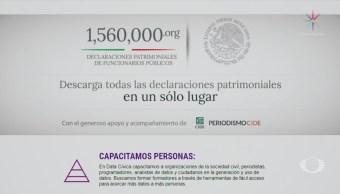 Data Cívica publica declaraciones patrimoniales de funcionarios federales