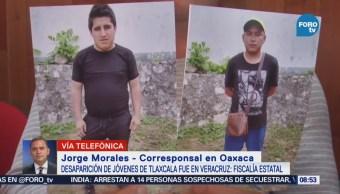 Desaparición Jóvenes Tlaxcala Fue Veracruz Fiscalía Estatal