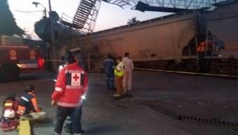 descarrilla ferrocarril en cordoba veracruz y afecta a migrantes