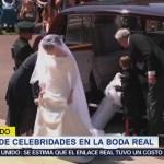 Desfile de personalidades en la boda real