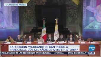 Detallan inauguración de exposición acerca del Vaticano en la CDMX