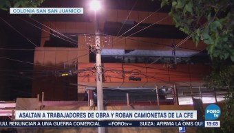 Detienen Ocho Asaltantes Dentro Obra Colonia Extremadura Insurgentes