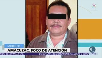 Detienen al alcalde con licencia de Amacuzac, Morelos