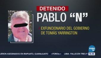 """Detienen, Tamaulipas, exfuncionario, Yarrington, Pablo """"N"""","""