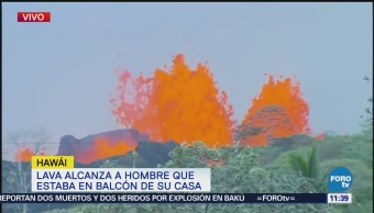 Difunden imágenes de la actividad del volcán Kilauea