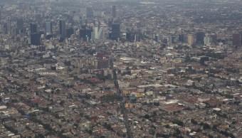 Reportan calidad del aire aceptable en el Valle de México