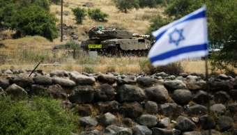 Ejército Israel sufre ataque iraní Altos Golán