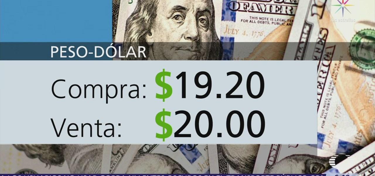 El dólar se vende en $20.00