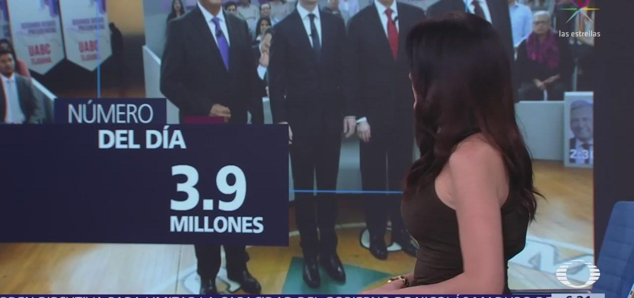 El número del día: 3.9 millones