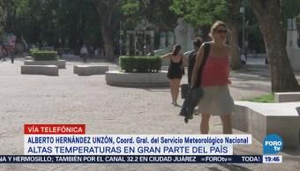 SMN Explica Subió Temperatura México CDMX