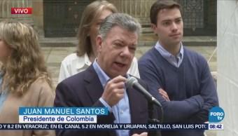Elecciones Presidenciales Colombia Más Seguras Santos