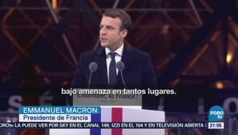 Emmanuel Macron Cumple Año Presidencia