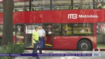 Emprenden campaña 'Viajemos seguros' en transporte público de la CDMX