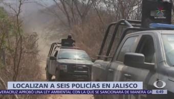 Encuentran vivos a 6 policías municipales desaparecidos en Jalostitlán, Jalisco