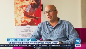Entrevista con Ronaldo Schemidt, ganador del premio World Press Photo