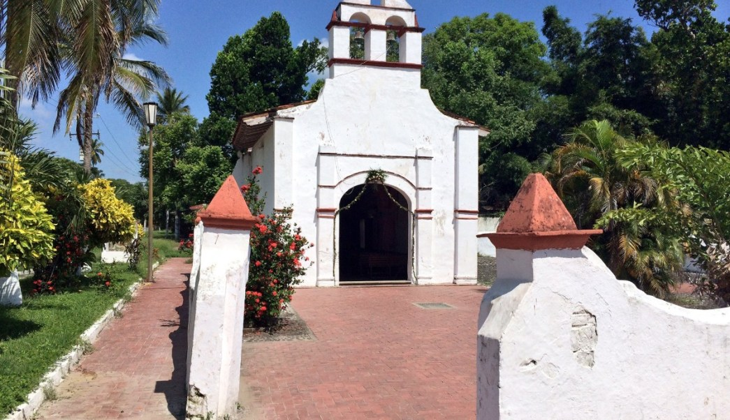 Restauran en Veracruz la ermita de La Antigua