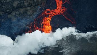 Erupción del Kilauea paraliza una planta geotérmica