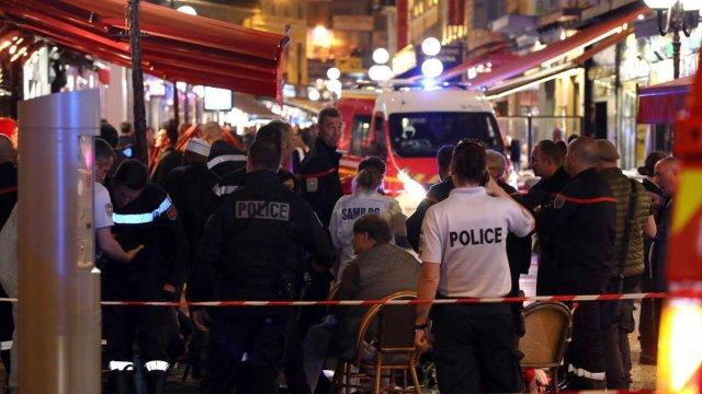 estampida disparo pistola gas deja 12 heridos niza