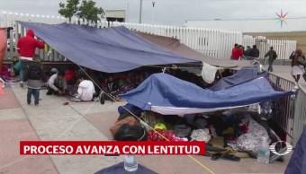 EU acepta solicitud de asilo de 14 migrantes