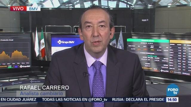 Explican Comportamiento Dólar Peso Mexicano