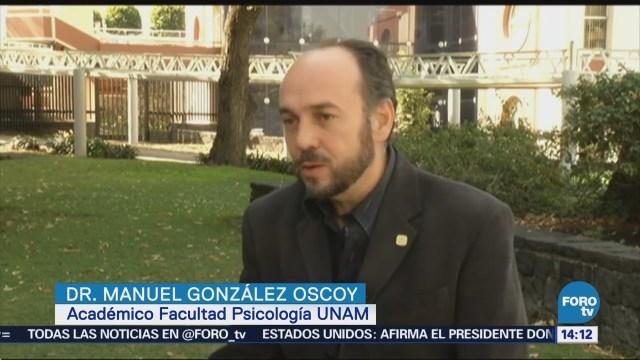 Explican Psicología Chisme Manuel González Oscoy,