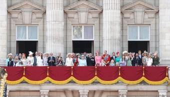 Los protocolos familia real británica