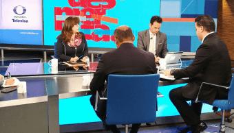 Mesa política en Despierta Choque entre AMLO y empresarios, campañas y candidatos