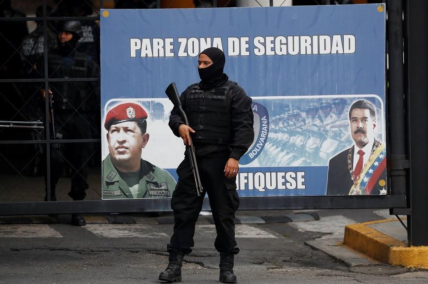 Finaliza protesta presos políticos sede policial Venezuela