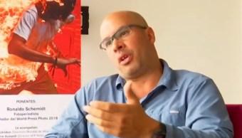 Ganador del Premio World Press Photo pide un cambio urgente en Venezuela