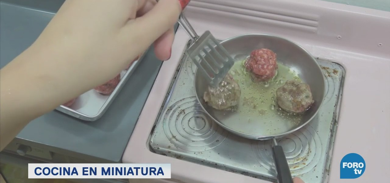 Furor Asiático Cocinar Platillos Miniatura