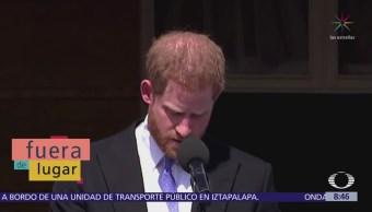 Lugar Abeja molesta al príncipe Enrique
