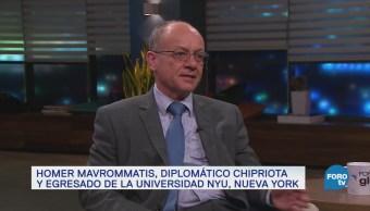 Genaro Lozano entrevista a Homer Mavrommatis