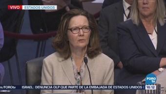 Gina Haspel comparece el Senado de Estados Unidos