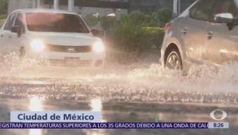 Granizada en la CDMX causa afectaciones viales e inundaciones
