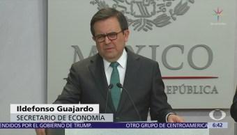 Guajardo: Mensajes de Trump en Twitter no afectan renegociación del TLCAN
