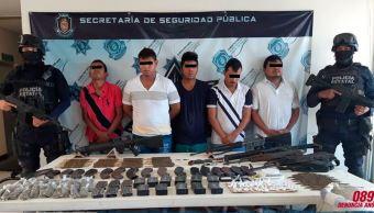 Detienen a seis integrantes de 'Guardia Guerrerense'