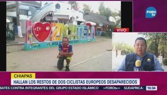 Hallan Restos Dos Ciclistas Europeos Desaparecidos Chiapas