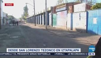 Hallan tres cadáveres en San Lorenzo Tezonco, Iztapalapa