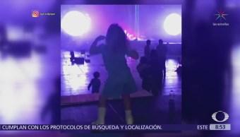 Hijo de Shakira y Gerard Piqué baila durante ensayo