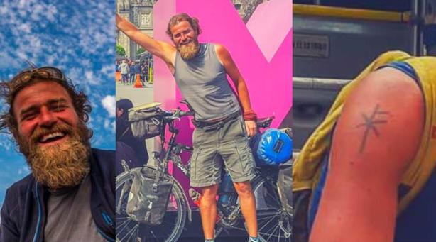 Desaparece en Chiapas ciclista alemán que ha recorrido varios países en bici