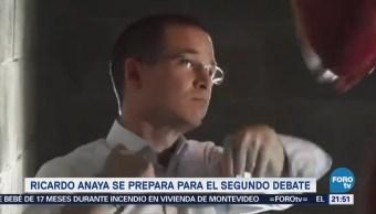 Ricardo Anaya Se Prepara Para Segundo Debate