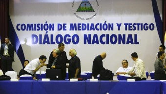 Iglesia suspensión diálogo nacional presidente Nicaragua